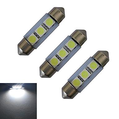 1 Вт. 60 lm Фестон Декоративное освещение 3 светодиоды SMD 5050 Холодный белый DC 12V