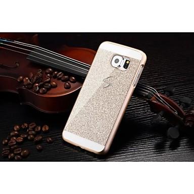 Voor Samsung Galaxy hoesje Patroon hoesje Achterkantje hoesje Glitterglans PC Samsung S6