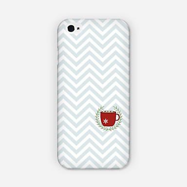kreuken kopjes patroon pc telefoon geval rugdekking voor iPhone 6 plus case