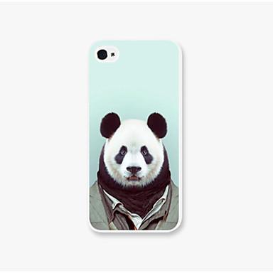 uniform panda patroon PC Phone achterkant van de behuizing dekking voor iphone5c