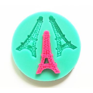 bakvormen siliconen Eiffeltoren bakvormen voor fondant chocolade taart