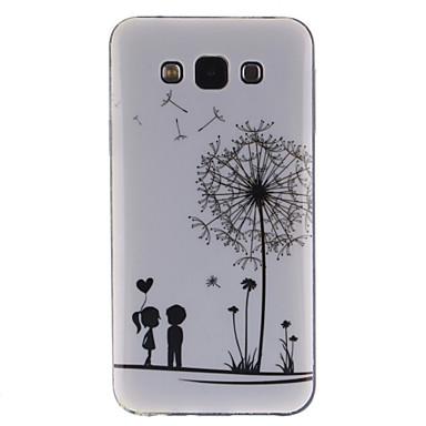Coco fun® αγάπη πικραλίδα μοτίβο μαλακό TPU IMD πίσω κάλυψη περίπτωσης για Samsung Galaxy e5 e500f E500H