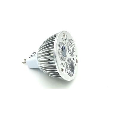 GU5.3 (MR16) LED-spotlampen MR16 3 leds Krachtige LED Natuurlijk wit 240-300lm 5000K DC 12V