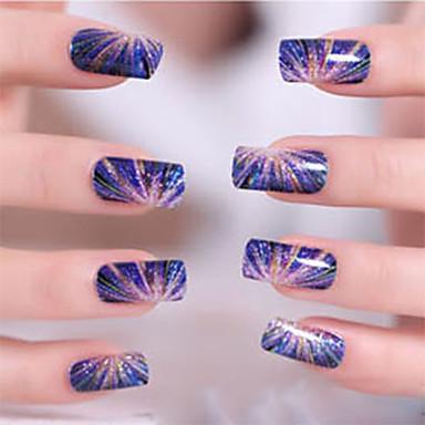 Etiquetas de unhas 3D Modelo de estampa de unhas Diário Desenho Fashion Alta qualidade
