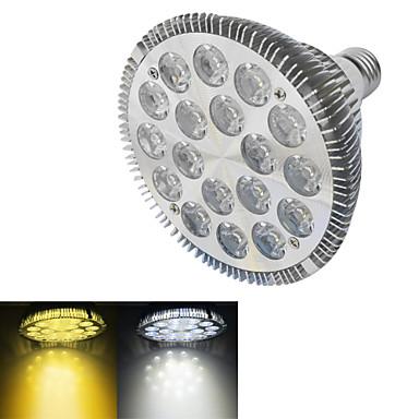 18W E26/E27 LED-spotlampen 18 Krachtige LED 1500-1600 lm Warm wit / Koel wit AC 220-240 V 1 stuks