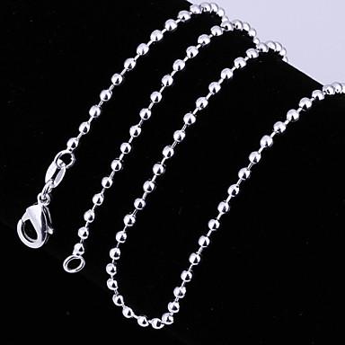 Női Rövid nyakláncok Nyakláncok Ezüstözött Rövid nyakláncok Nyakláncok Esküvő Parti Napi Hétköznapi Jelmez ékszerek