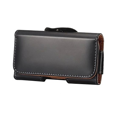 Недорогие Чехлы и кейсы для Galaxy Note 3-Кейс для Назначение универсальный Note 4 / Note 3 / Note 2 Кошелек Чехол Однотонный Мягкий текстильный