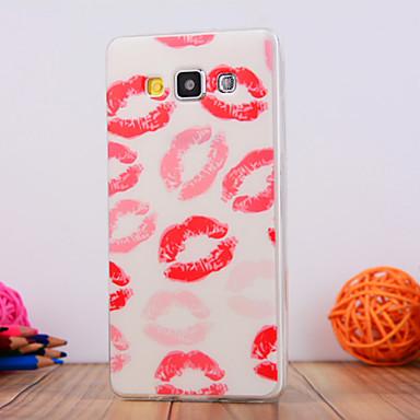 Voor Samsung Galaxy hoesje Patroon hoesje Achterkantje hoesje Sexy dame TPU Samsung A5
