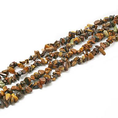 beadia contas de pedra olho de tigre 5-8mm forma irregular DIY colar de pérolas soltas em forma de jóias pulseira 34