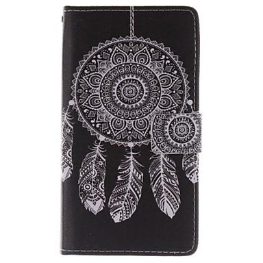 Para Samsung Galaxy Note Carteira / Porta-Cartão / Com Suporte / Flip Capinha Corpo Inteiro Capinha Filtro dos Sonhos Couro PU Samsung