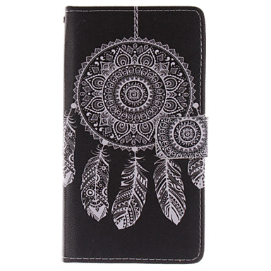 tok Για Samsung Galaxy Samsung Galaxy Note Θήκη καρτών Πορτοφόλι με βάση στήριξης Ανοιγόμενη Πλήρης Θήκη Ονειροπαγίδα PU δέρμα για Note 4