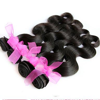 Υφάνσεις ανθρώπινα μαλλιών Βραζιλιάνικη Κυματιστό 1 Τεμάχιο υφαίνει τα μαλλιά