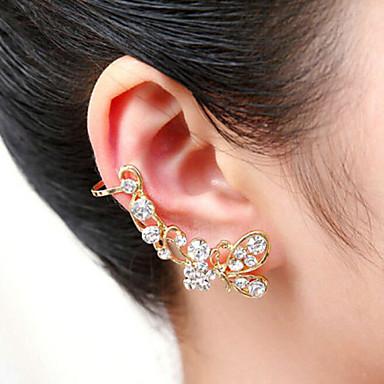 Mulheres Punhos da orelha - Prata Dourado Brincos Para Festa Diário
