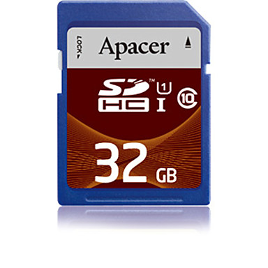 Apacer - 32 γρB - UHS-I U1 - SD/SDHC/SDXC - Class10