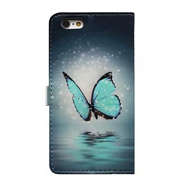 Apple A Custodia Plus iPhone di per 7 Con 7 iPhone supporto Integrale Per credito 5 Farfalla pelle Resistente portafoglio 6s 03321542 carte Custodia Plus iPhone sintetica iPhone Porta C1Xr5Xq