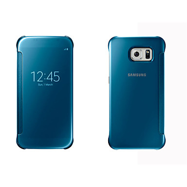 tok Για Samsung Galaxy Samsung Galaxy Θήκη με παράθυρο Αυτόματη αδράνεια / αφύπνιση Καθρέφτης Ανοιγόμενη Πλήρης Θήκη Συμπαγές Χρώμα Σκληρή