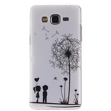 Voor Samsung Galaxy hoesje Hoesje cover Patroon Achterkantje hoesje Paardenbloem TPU voor Samsung Grand Prime