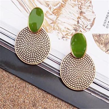 Σκουλαρίκι Κουμπωτά Σκουλαρίκια Κοσμήματα 1pc Καθημερινά Κράμα Γυναικεία Χάλκινο