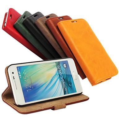 tok Για Samsung Galaxy Samsung Galaxy Θήκη Θήκη καρτών με βάση στήριξης Ανοιγόμενη Μαγνητική Πλήρης Θήκη Συμπαγές Χρώμα PU δέρμα για A3