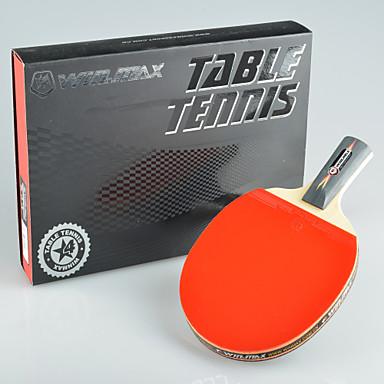 winmax® 1 stuks 4 sterren lange steel tafeltennis met een kleur verpakkingsdoos