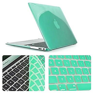 cor mais novo gabinete sólido cristal de corpo inteiro com tampa do teclado para MacBook Air de 11,6 polegadas (cores sortidas)