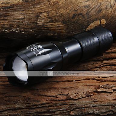 1600 lm LED Fenerler LED 5 Kip - UltraFire LED Flashlights - Zoomable / Ayarlanabilir Fokus