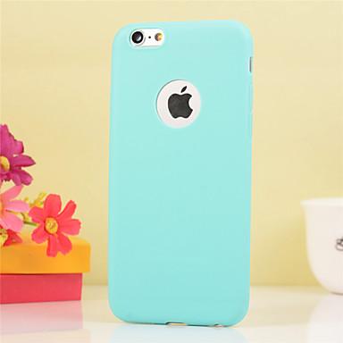 tok Για Apple iPhone X iPhone 8 iPhone 6 Plus Ανθεκτική σε πτώσεις Πίσω Κάλυμμα Συμπαγές Χρώμα Μαλακή TPU για iPhone X iPhone 8 Plus