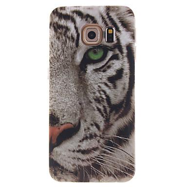 tok Για Samsung Galaxy Samsung Galaxy Θήκη IMD Πίσω Κάλυμμα Ζώο TPU για S6 edge