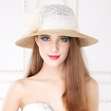Τεχνουργήματα καλαθοποιίας Λινάρι Κρύσταλλο Ύφασμα Τιάρες Καπέλα 1 Γάμου Πάρτι / Βράδυ Causal ΕΞΩΤΕΡΙΚΟΥ ΧΩΡΟΥ Headpiece