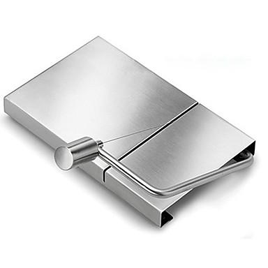 お買い得  フルーツ&ベジタブル用クッキングツール-余分なワイヤーが付いているステンレス鋼板チーズスライサー