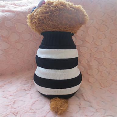 Hond Truien Hondenkleding WiZwart Rood/Wit bruin/Wit Wit / blauw Kostuum Voor huisdieren