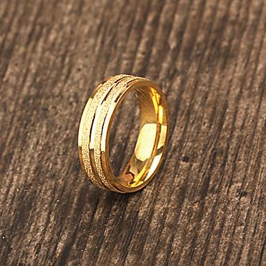 χρυσός - Εξατομικευμένη Κοσμήματα - Δακτυλίδια - από Ανοξείδωτο Ατσάλι
