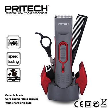 pritech profissional aparador de pêlos máquina de cortar cabelo elétrica para os homens ou o cabelo do bebê ferramenta baber máquina de