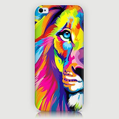 χρώμα το τηλέφωνο λιοντάρι μοτίβο πίσω κάλυψη περίπτωση iphone5c iphone περιπτώσεις