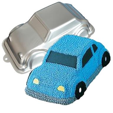 vier-c auto vorm aluminium taart bakpan schimmel, bakken supplies