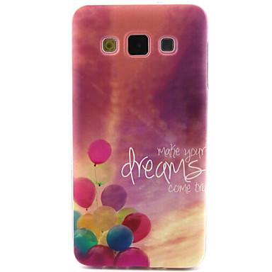 Para Samsung Galaxy Capinhas Case Tampa Estampada Capa Traseira Capinha Palavra / Frase PUT para Samsung A5 A3
