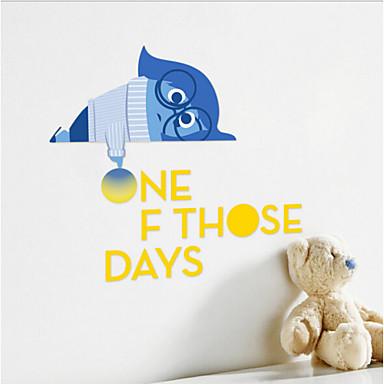 iinside out droevige film muursticker kinderen slaapkamer decoratie