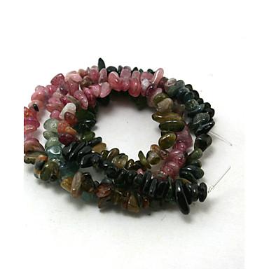 Jóias DIY 38cm/str pçs Pedra Rosa claro Forma Geométrica Bead cm faça você mesmo Colar Pulseiras