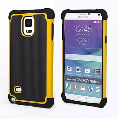 hoesje Voor Samsung Galaxy Samsung Galaxy Note Schokbestendig Achterkant Schild PC voor Note 4 Note 3