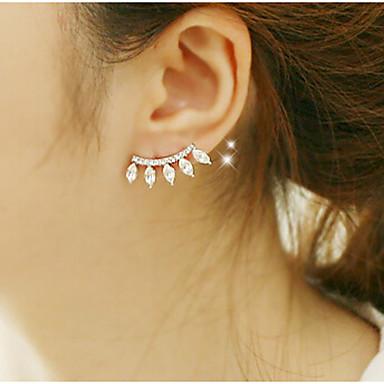 Dames Druppel oorbellen Kristal Luxe Kubieke Zirkonia Gesimuleerde diamant Legering Sieraden Kostuum juwelen