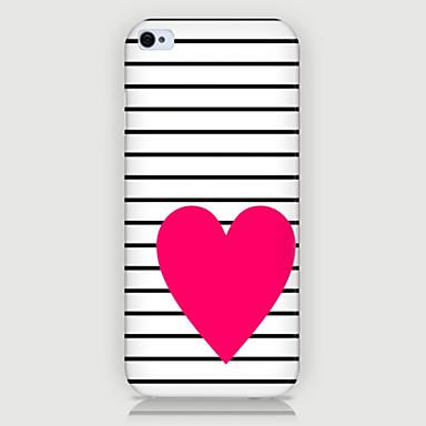 iphone5c에 대해 다시 빨간 사랑 패턴 전화 케이스 커버