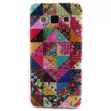 Para Samsung Galaxy Capinhas Case Tampa Estampada Capa Traseira Capinha Estampa Geométrica PUT para Samsung A5 A3