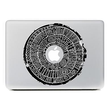 ronde bloem 7 decoratieve skin sticker voor MacBook Air / Pro / Pro met Retina-display
