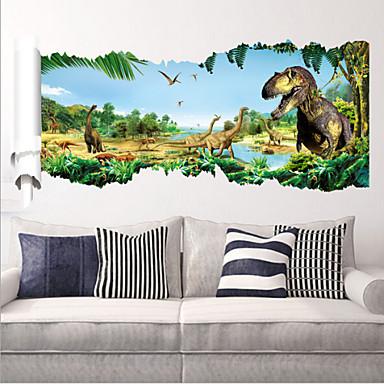 Dieren Muurstickers Vliegtuig Muurstickers Decoratieve Muurstickers, PVC Huisdecoratie Muursticker Wand