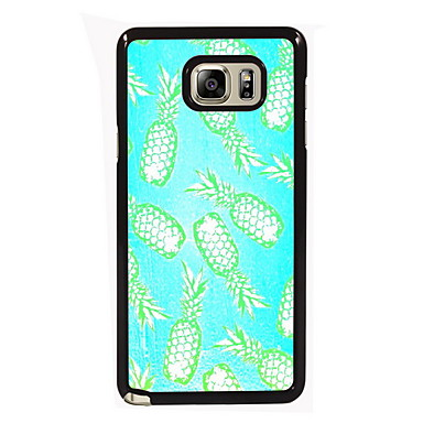 Voor Samsung Galaxy Note Hoesje cover Patroon Achterkantje hoesje Fruit PC voor Samsung Note 5 Edge Note 5 Note 4 Note 3