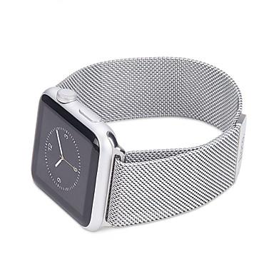 Milane lus voor appel horloge 42mm 38mm metaal roestvrijstalen band armband