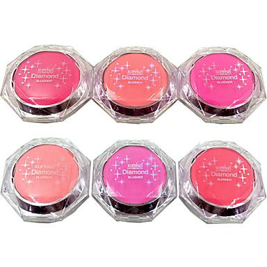 # / 6 colores Almacenamiento de Cosméticos Polvos Sonrojo 1 pcs Seco Otro Rostro Maquillaje Cosmético