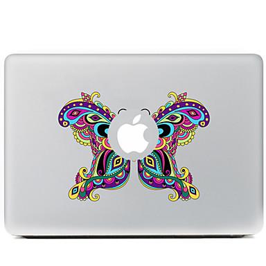 de vlinder decoratieve skin sticker voor MacBook Air / Pro / Pro met Retina-display