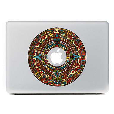 ronde bloem 27 decoratieve skin sticker voor MacBook Air / Pro / Pro met Retina-display