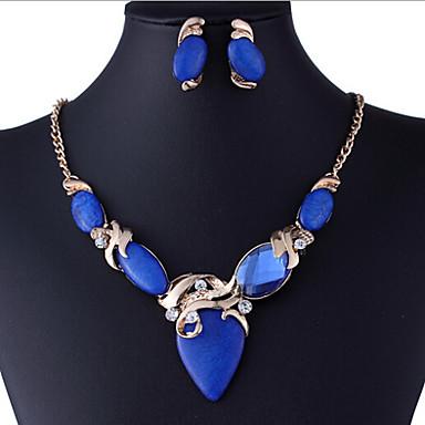 Σετ Κοσμημάτων κοσμήματα πολυτελείας Συνθετικοί πολύτιμοι λίθοι Προσομειωμένο διαμάντι Cercei Κρεμαστό Για Πάρτι Δώρα Γάμου